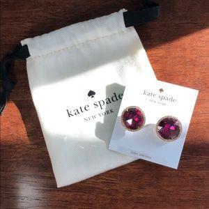 "Kate Spade ""She Has Spark"" Earrings"